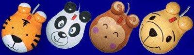 Mini Mice: ratones con cara de tigre, panda, mono…
