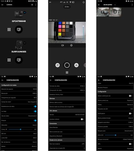 Gopro App Ui