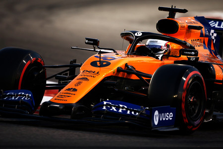 Sainz Abu Dabi F1 2019