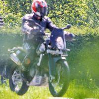 Ojito trail intermedias, KTM 800 Adventure en camino desde Austria
