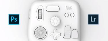 TourBox, la consola de edición fotográfica para Photoshop y Lightroom que simplifica la idea de la Loupedeck