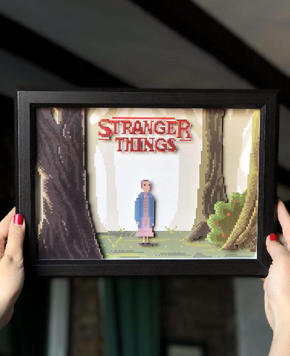 Cuadro Pixel Stranger Things