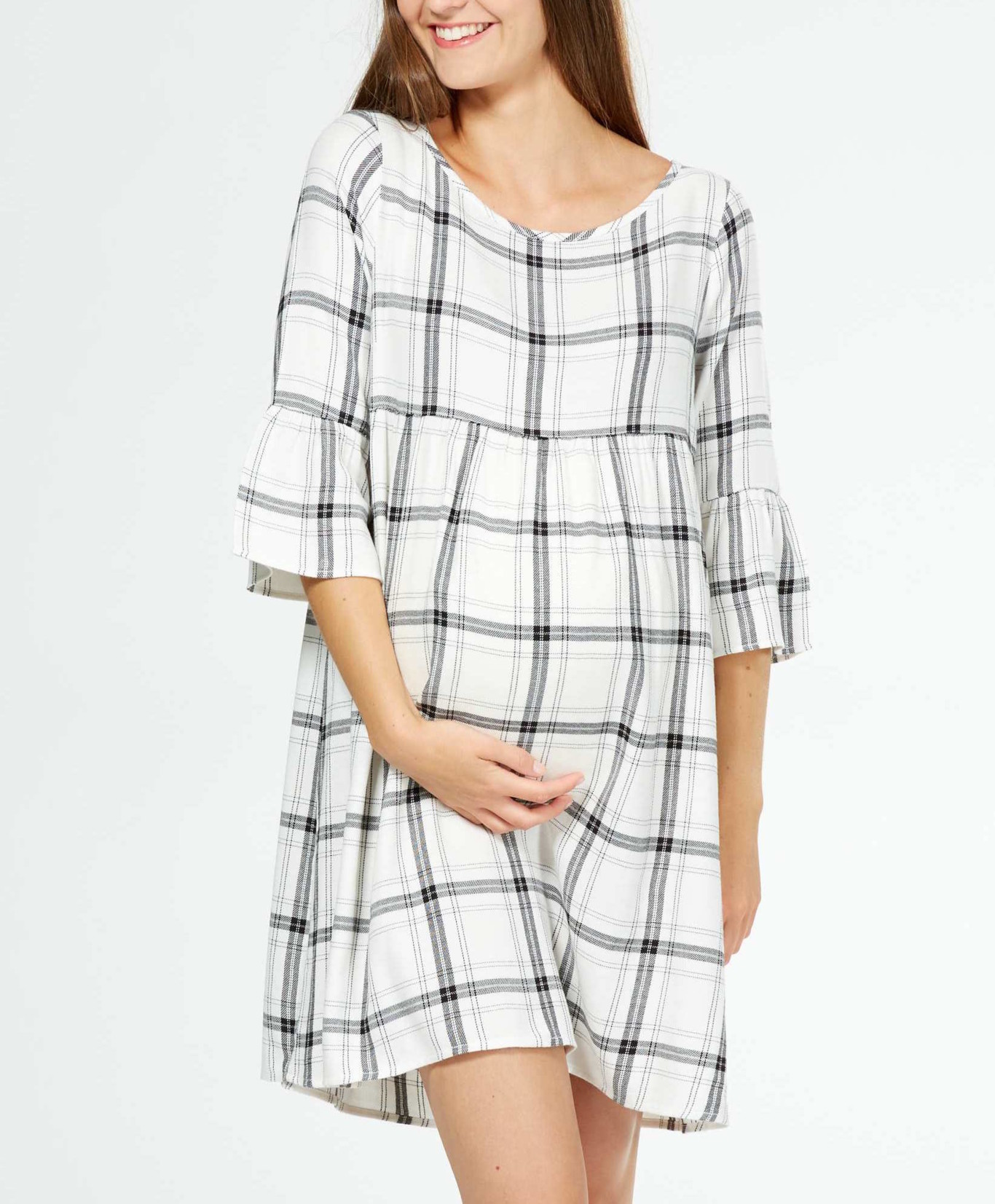 nueva llegada dcd73 5aa64 Vestidos otoñales perfectos para el embarazo