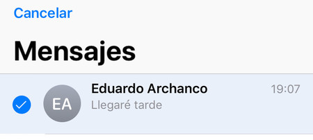 Seleccionar Imessage Ios Eliminar Chat