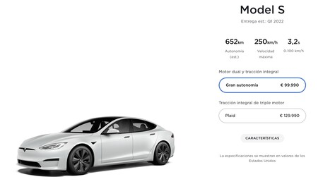 Comprar Tesla Model S