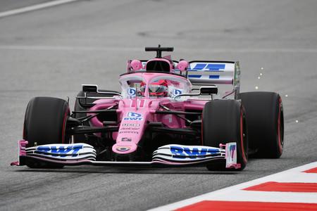 Sergio Perez Austria F1 2020