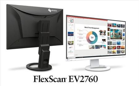 EIZO ya tiene nuevo monitor IPS, es el FlexScan EV2760 y llega con resolución WQHD y 27 pulgadas