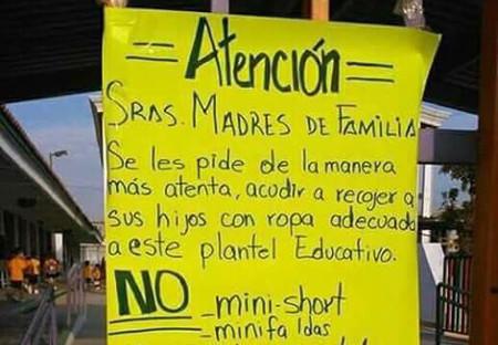 1049962bc85 Una escuela pide a las madres que acudan a recoger a sus hijos
