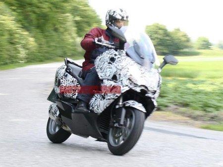 Primera foto espía del BMW Concept C Scooter