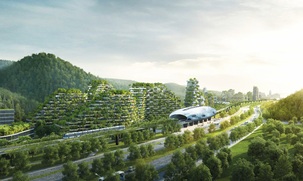 Stefano Boeri Architetti Liuzhou Forest City View 3 Copy