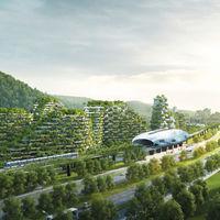 En China ya tienen sitio para la primera ciudad con un bosque vertical: un millón de plantas y árboles