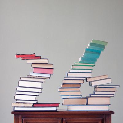 Hazlo tú mismo: esculturas con libros