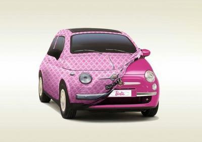 Fiat 500 Barbie, capricho de lujo