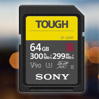 """Sony Tough, nueva gama de tarjetas SD UHS-II que prometen ser """"las más resistentes y rápidas del mundo"""""""