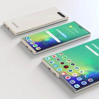 Samsung patenta un móvil con pantalla extensible, un paso más allá de los móviles plegables