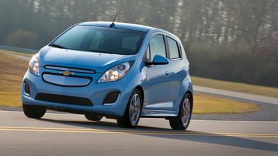2014 Chevrolet Spark EV, el primer eléctrico que venderá General Motors