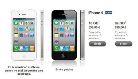 Apple empieza a vender el iPhone 4 libre en España