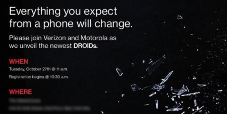 Verizon y Motorola preparan la presentación de nuevos DROIDs ¿sucesor del Moto Maxx en camino?