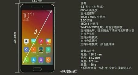 Xiaomi se sumaría a la tendencia 'compact' con el Mi S, un gama alta de 4,6 pulgadas