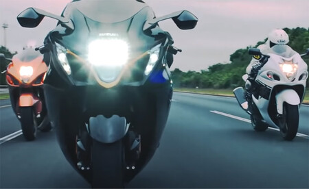 Suzuki Hayabusa 2021 Video Filtrado 1