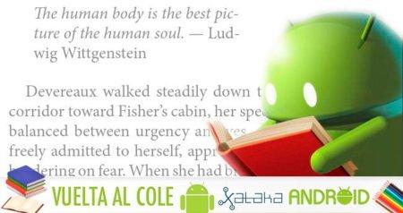 Las mejores aplicaciones Android vuelta al cole: lectores de ebooks