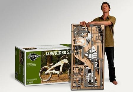 Sawyer, la bicicleta de madera que no es un juguete
