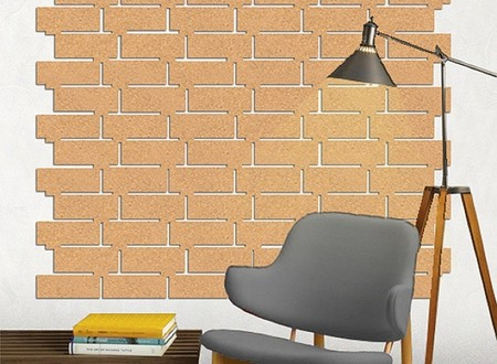 Murales de corcho para decorar la pared - Corcho decorativo paredes ...
