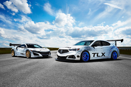Un TLX de 500 hp y un NSX son la alineación de Acura para Pikes Peak este año
