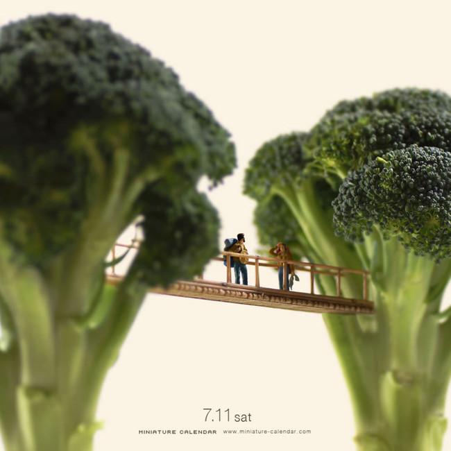 Miniature Calendar Tatsuya Tanaka 17