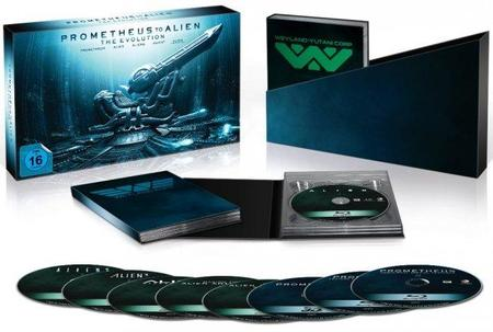 'Prometheus' y el pack 'La evolución' llegan en dvd y blu-ray