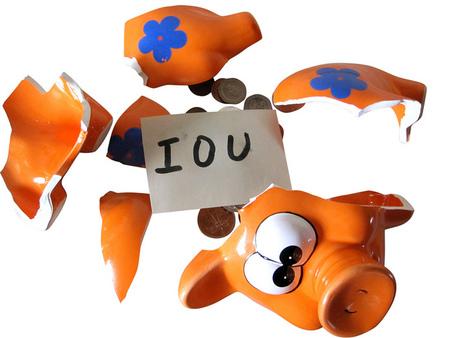 Se confirma que ahorrar en tiempos de crisis es imposible