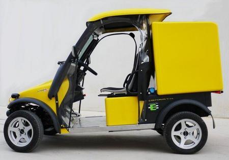 Comarth, los coches eléctricos españoles de los carteros