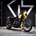 "Yamaha XVS ""ULTRA"". GS Mashin nos trae la moto de Evangelion al Yard Built"