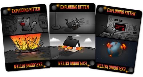 Exploding Kittens, The Oatmeal se pasa internet con gatos, cartas y crowdfunding