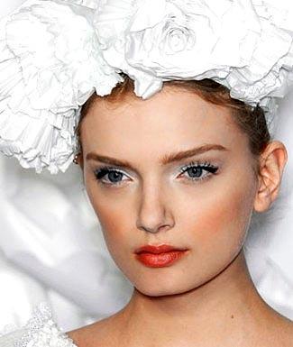 Maquillaje para una novia Chanel