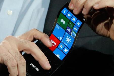 Samsung: pantallas plegables para el 2015 y más densidad  de pixeles para el 2014