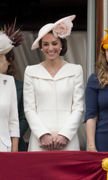 Kate Middleton Con Vestido Alexander Mcqueen