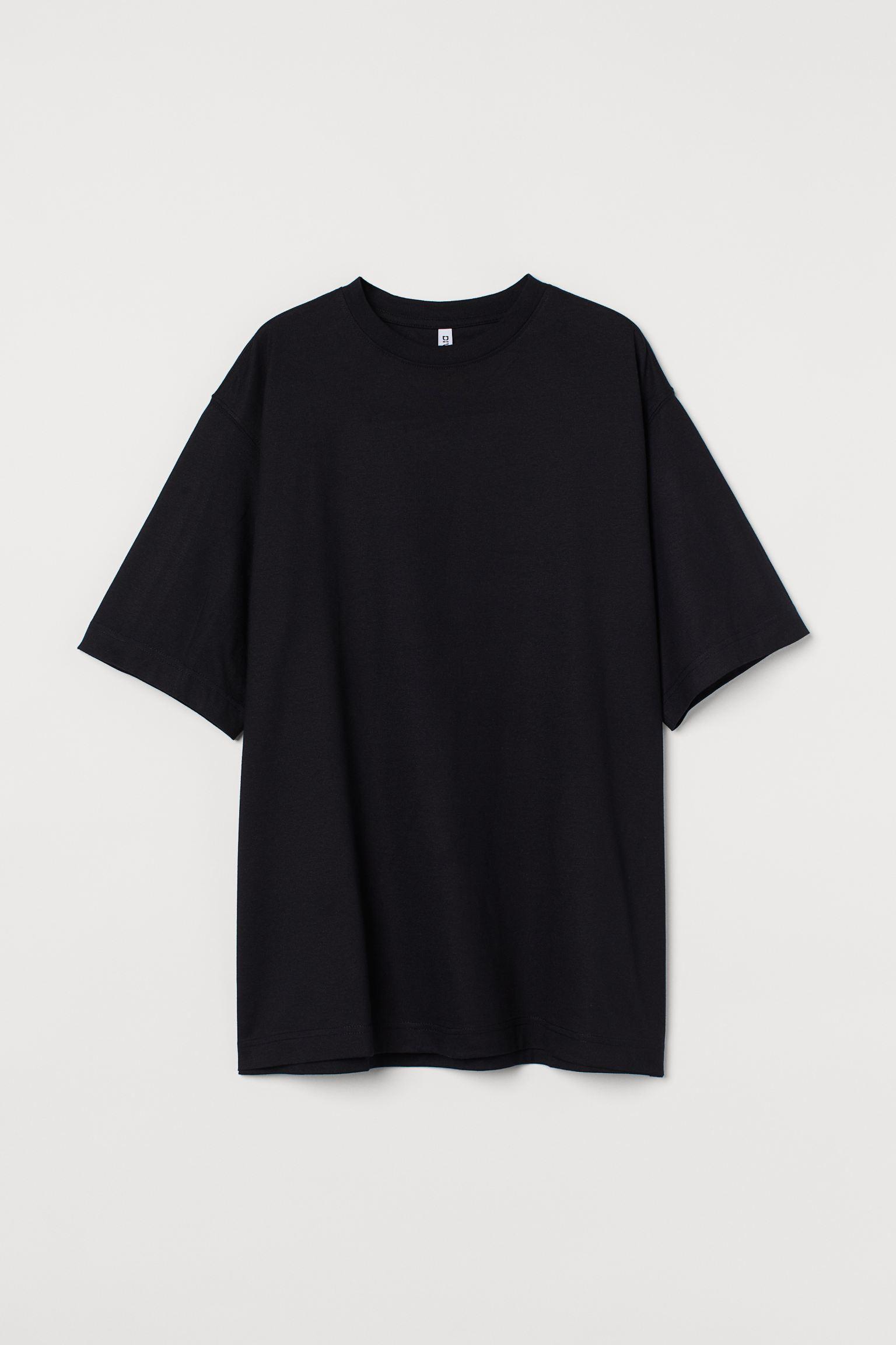 Camisa amplia negra