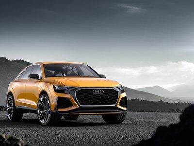 Audi Q8 Sport Concept: 476 hp y 516 lb-pie de torque en un SUV de lujo con compresor eléctrico