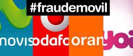 FACUA denuncia a Movistar, Vodafone, Orange y Yoigo por impedir que sus móviles se usen en las redes de la competencia