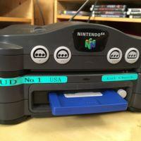 Aparece la primera unidad americana del Nintendo 64DD, toda una rareza para los coleccionistas