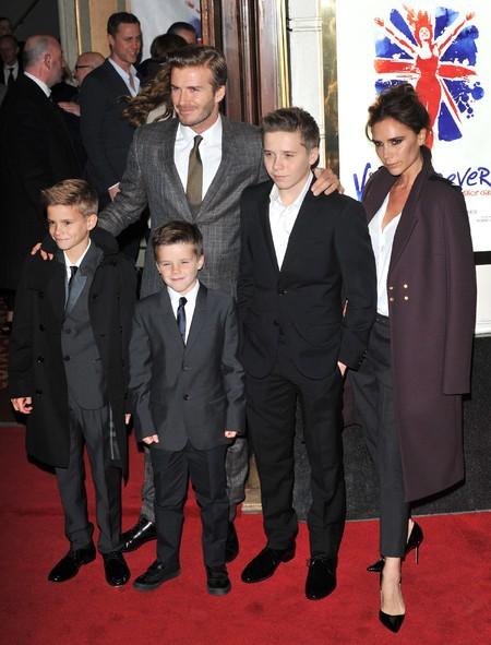 David Y Victoria Beckham 20 Aniversario Boda 2012 2