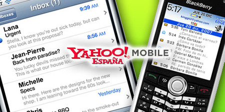 Yahoo Mail: push e-mail gratuito para iPhone y Blackberry