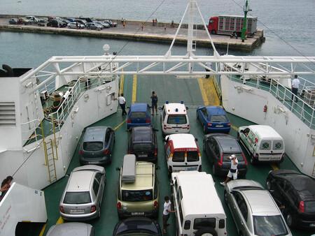 Coches Exportados En Barco