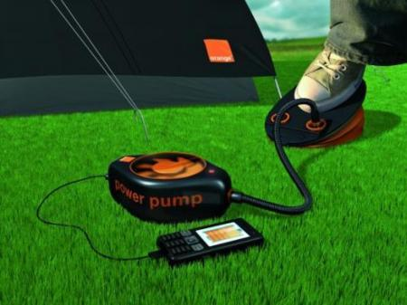 Orange Power Pump recarga tu móvil con aire
