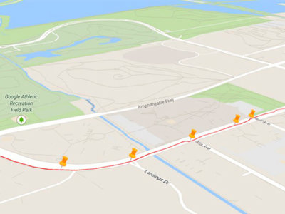 Google My Tracks se actualiza, añade la vista Earth con edificios 3D