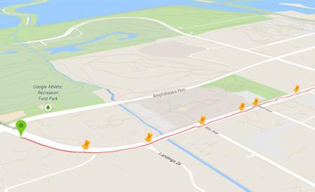 Google My Tracks se actualiza, añade la vista Earth con edificios 3D