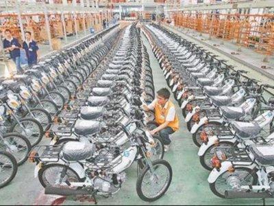 La mayoría de motocicletas del mundo se fabrican aquí debido a excelente comunicación