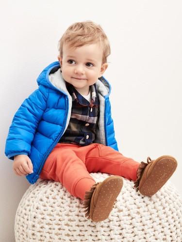 Los chaquetones más bonitos para que tu bebé vaya bien abrigado