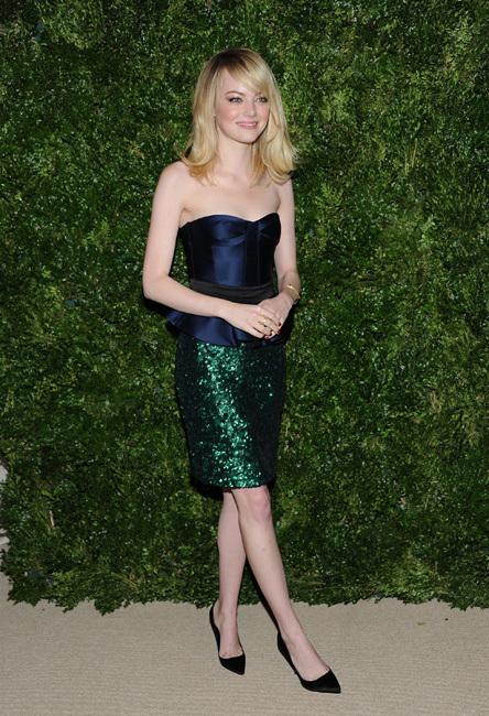 Emma Stone Gala Vogue NY